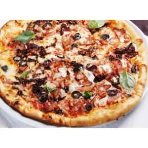 Pizza göbələk ilə  - 33 sm