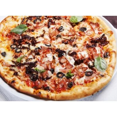 Pizza toyuq ilə - 33 sm